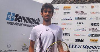 Tennis, dopo le qualificazioni al via il Memorial Fontana - 2° Trofeo Servomech