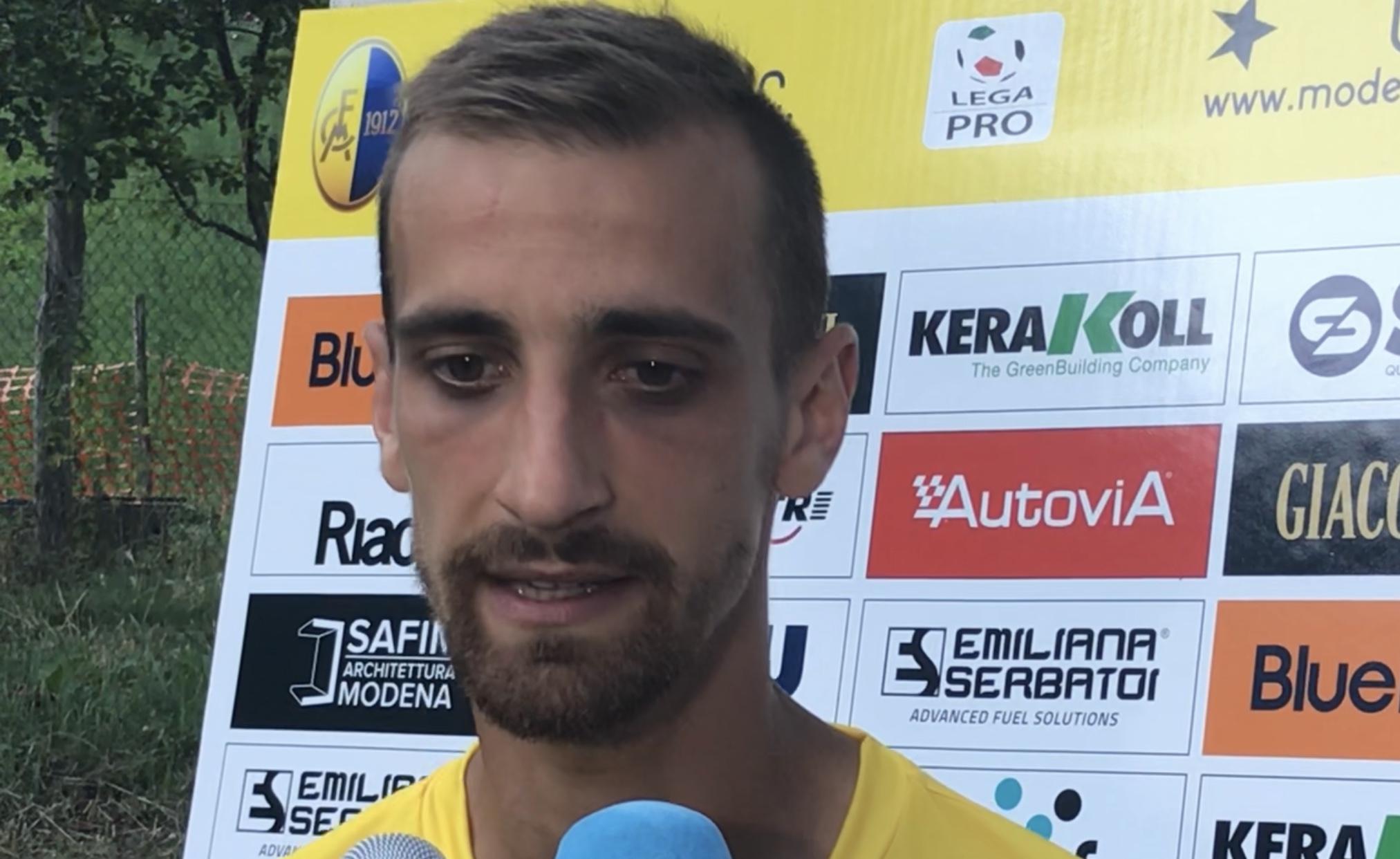 Modena-Rappresentativa AIC, il gol di Mickael Varutti
