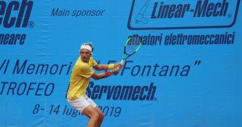 Tennis, la pioggia condiziona la prima giornata del Memorial Fontana - 2° Trofeo Servomech