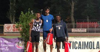 Atletica, altri cinque titoli per la Fratellanza nella seconda giornata dei Campionati regionali