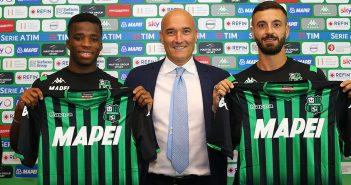 Sassuolo, Traorè e Caputo si presentano: