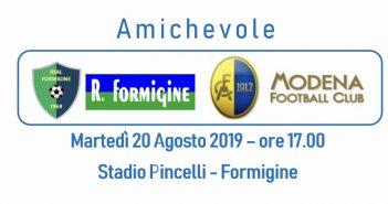"""Modena Fc, martedì pomeriggio amichevole allo Stadio """"Pincelli"""" contro il Formigine"""
