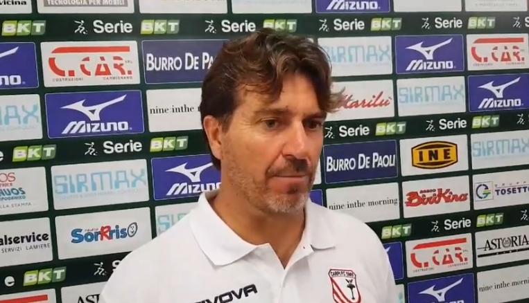 Coppa Italia: Cittadella-Carpi 8-7 dcr, le dichiarazioni di mister Riolfo