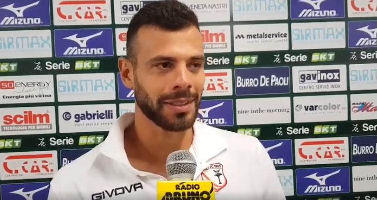 Coppa Italia: Cittadella-Carpi 8-7 dcr, le parole di Michele Vano