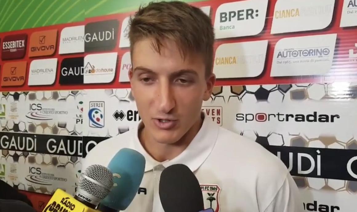 Vis Pesaro-Carpi 0-1, le parole di Stefano Rossoni