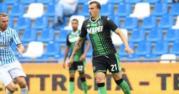 Sassuolo - ''Resto del Carlino'', Chiriches out contro l'Inter