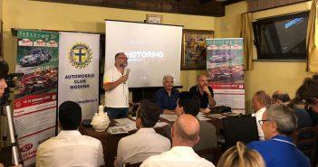 Rally Città di Modena, presentata ufficialmente l'edizione numero 40