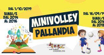 Pallavolo Anderlini, Minivolley e Pallandia: al via 12 corsi per bambini nati dal 2010 al 2016