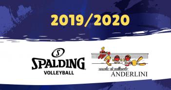 Pallavolo Anderlini, il nuovo sponsor tecnico sarà Spalding