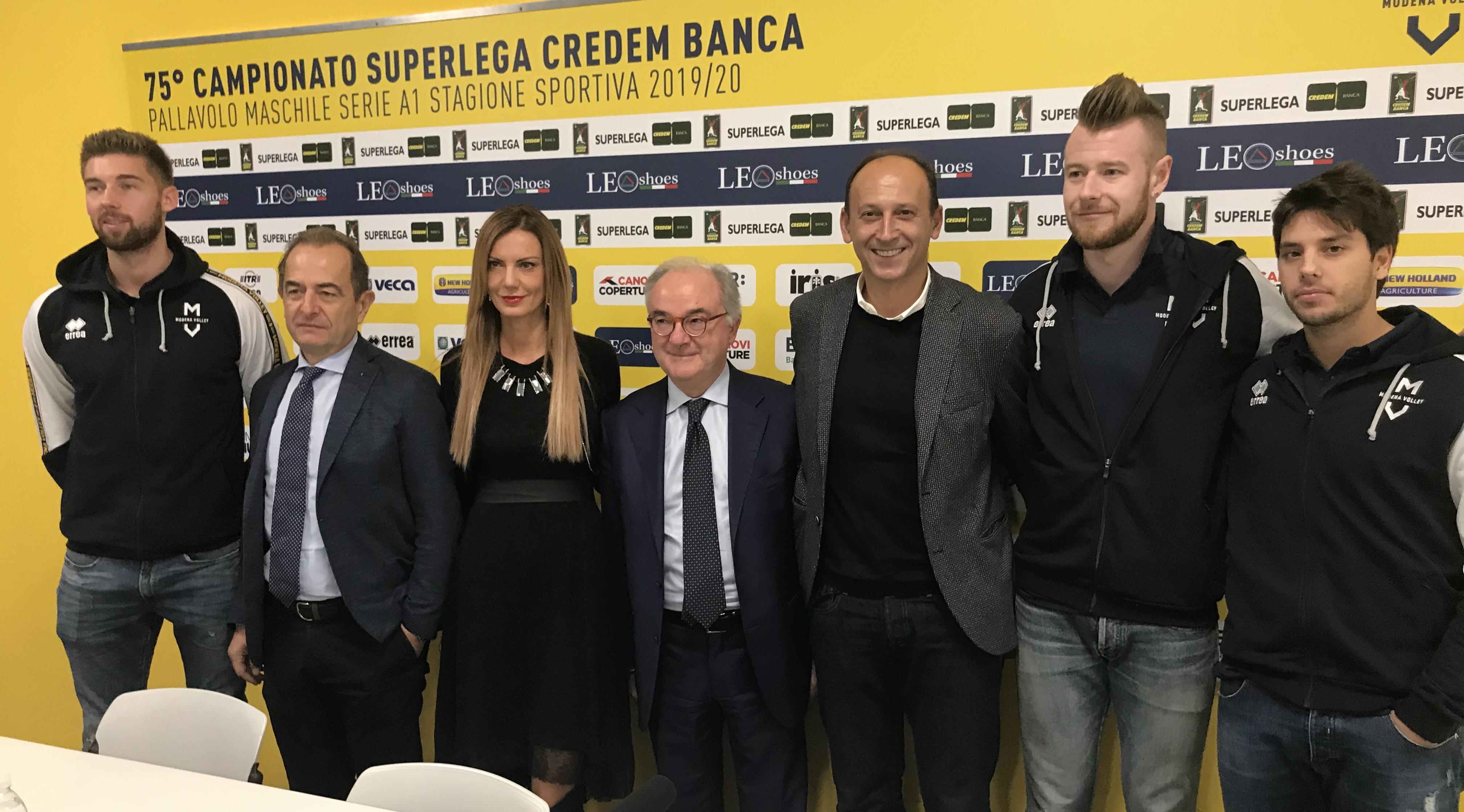 Modena Volley, presentazione partnership Bper Banca