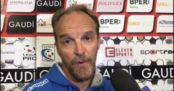 """Carpi-Modena 0-1, mister Zironelli: """"È la vittoria del gruppo"""""""