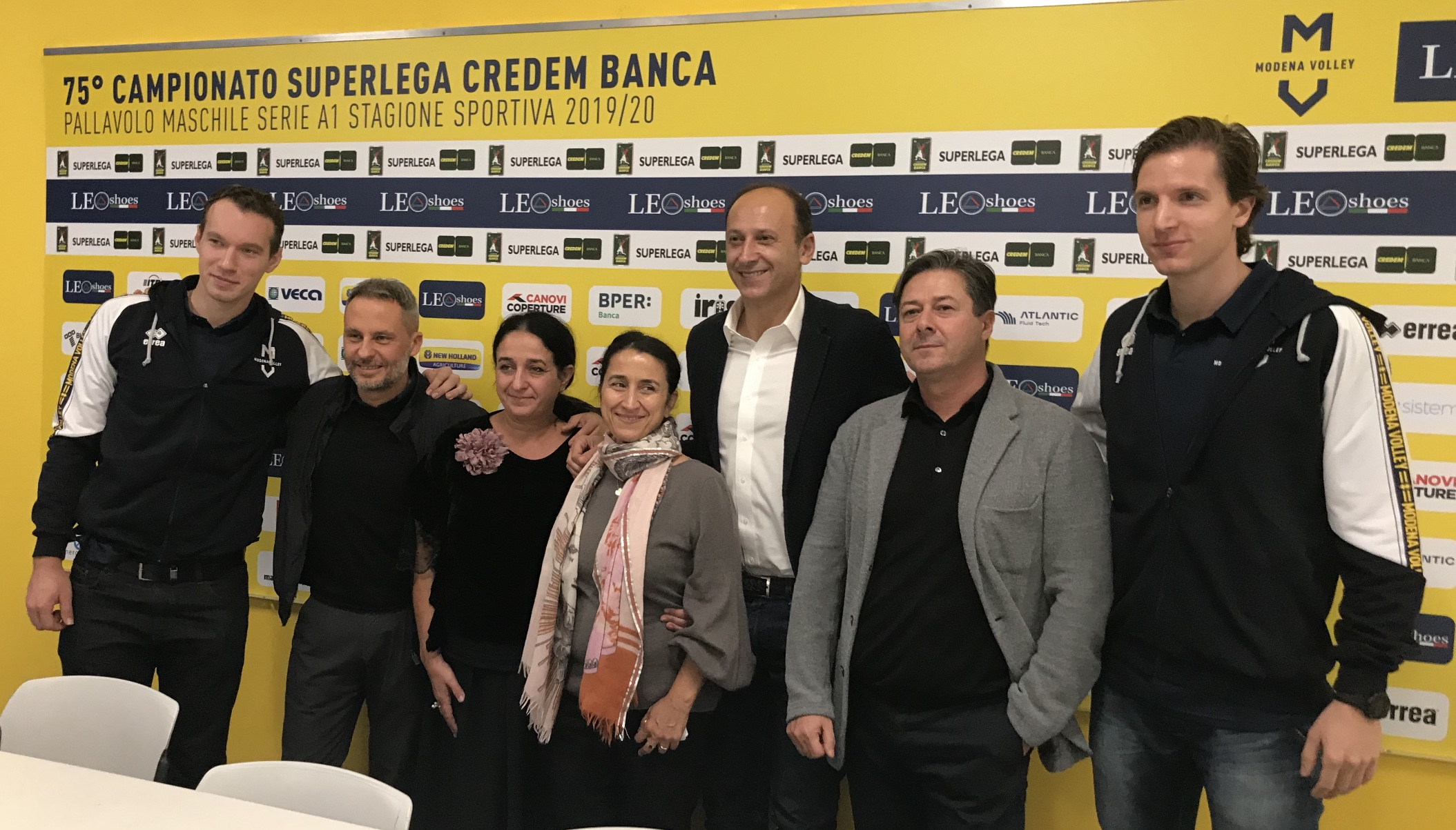 Modena Volley, presentazione partnership Mario Neri Spa