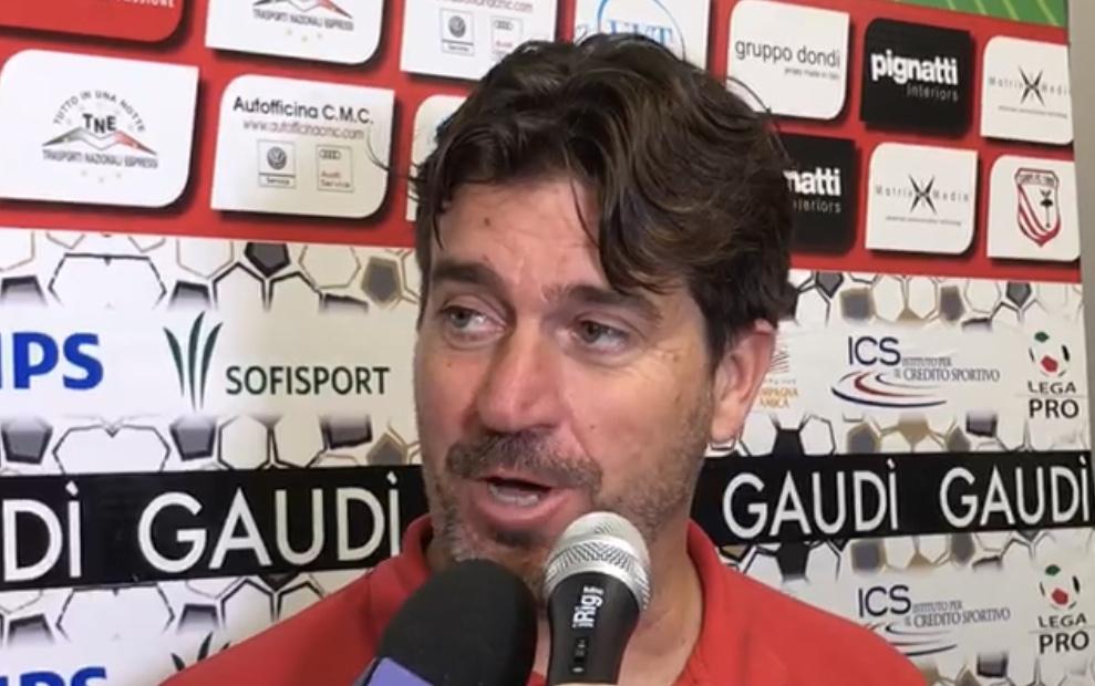 Carpi-Sudtirol 1-1, le dichiarazioni di mister Riolfo