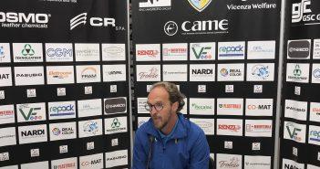 """Arzignano-Modena 1-1, mister Zironelli: """"Prestazione imbarazzante, abbiamo rubato un punto"""""""
