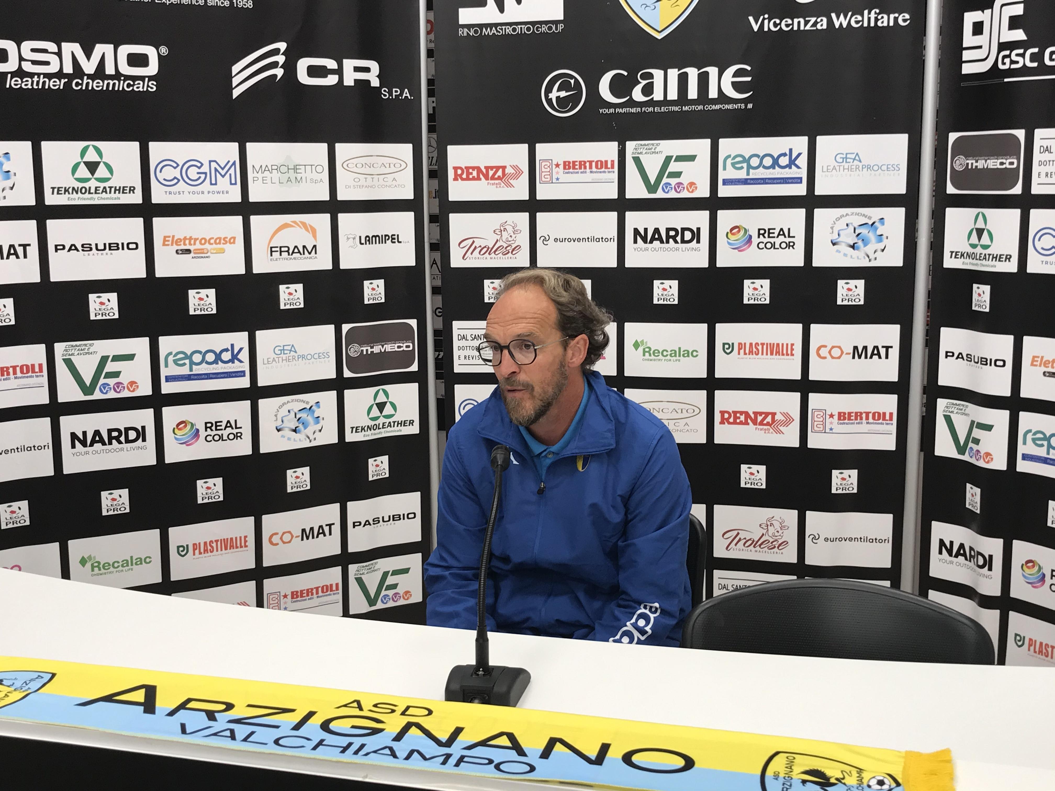 Arzignano-Modena 1-1, il duro sfogo di mister Zironelli