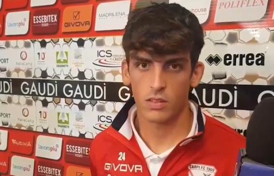 Carpi-Carrarese 2-0, le parole di Roberto Grieco