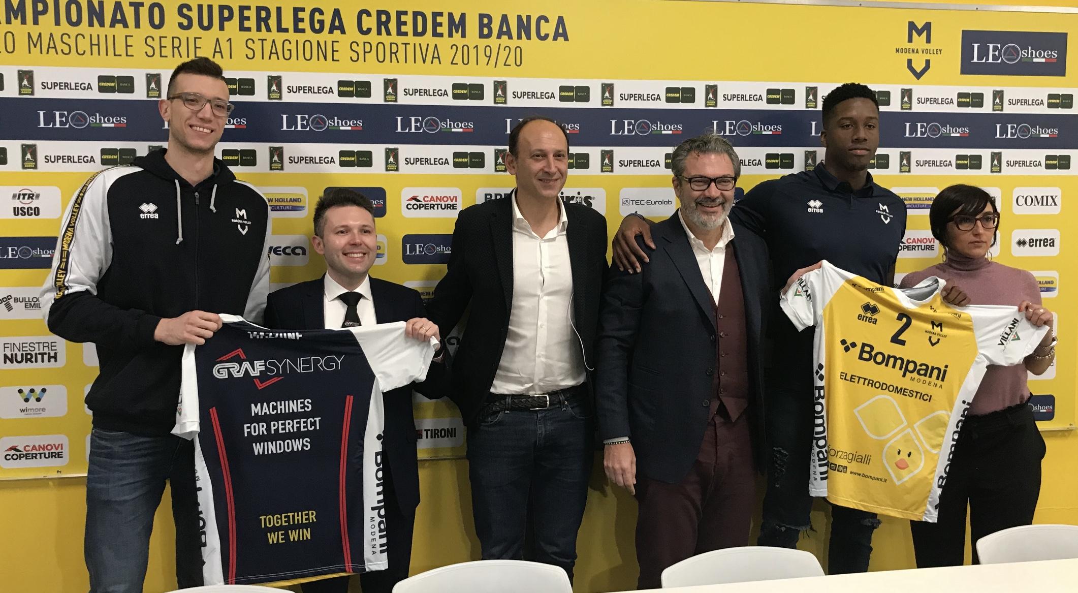 Modena Volley, presentazione maglia da riscaldamento