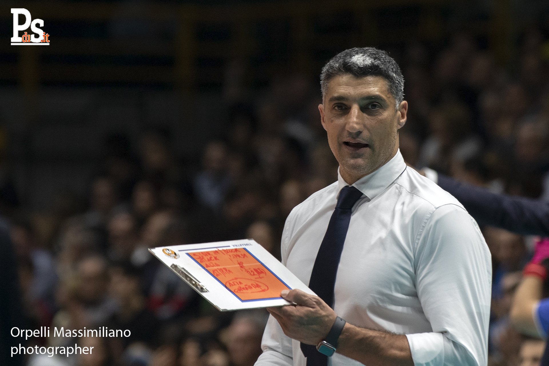 Modena Volley, intervista coach Andrea Giani