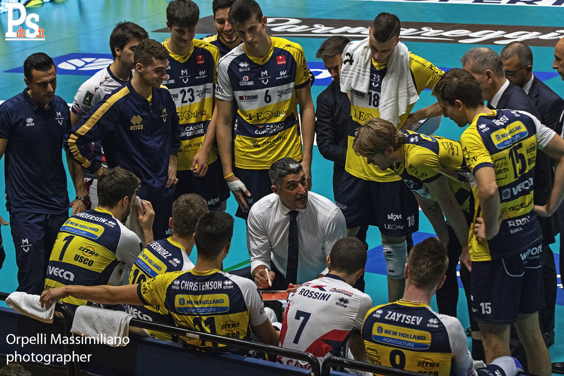 Modena Volley, coach Giani alla vigilia della Final Four di Coppa Italia