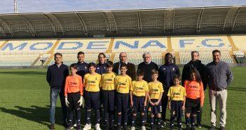 Modena Fc, Sau e Conad al fianco dell'Accademia gialloblù