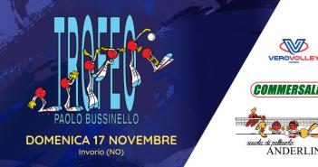 Pallavolo Anderlini, Trofeo Paolo Bussinello: domenica, a Invorio, si gioca la seconda tappa maschile