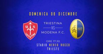 Triestina-Modena, le probabili formazioni