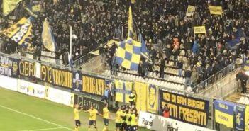 Modena Fc, 150 tifosi al seguito dei gialloblù a Trieste