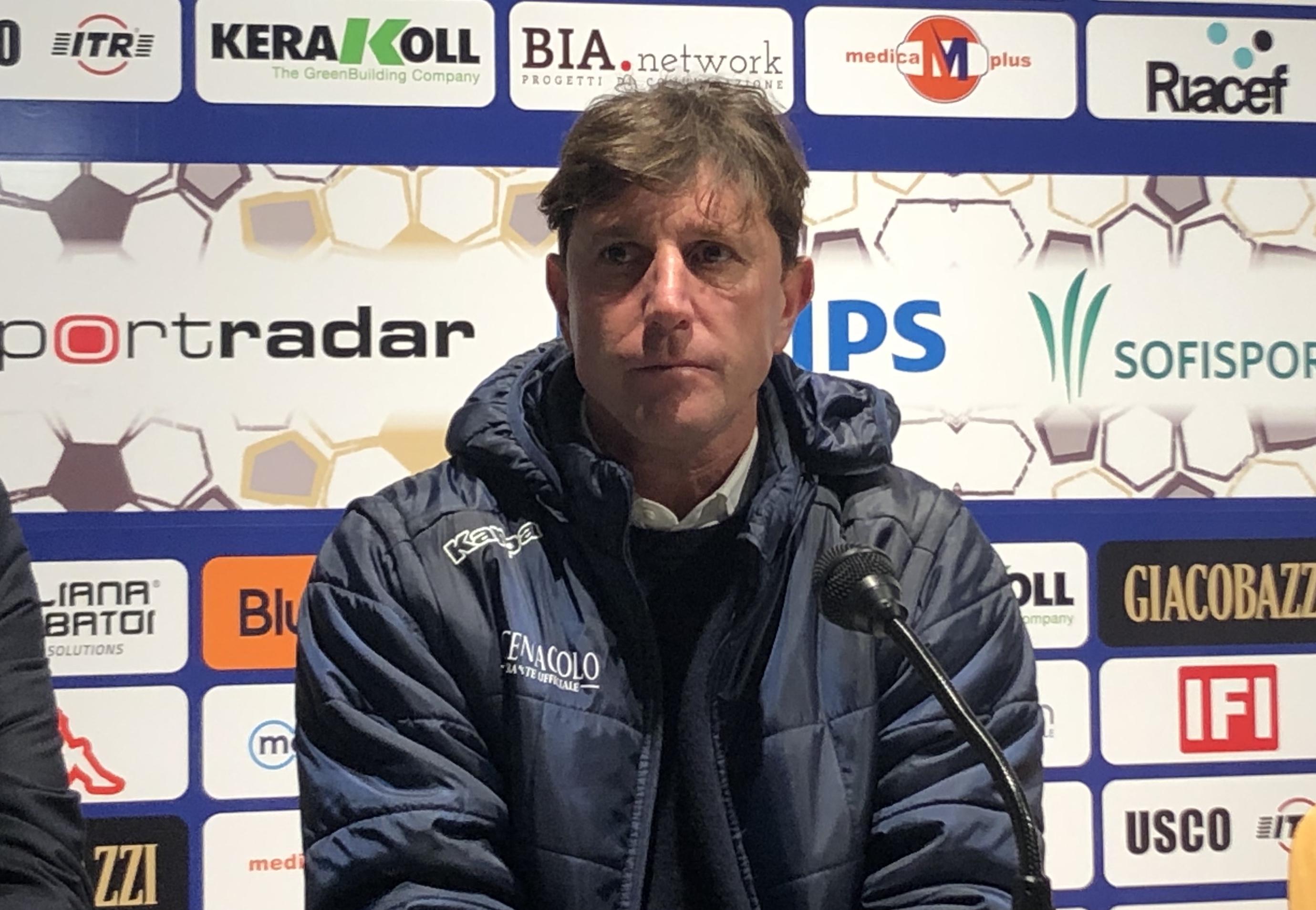 Modena-Vis Pesaro 3-1, le dichiarazioni di mister Mignani