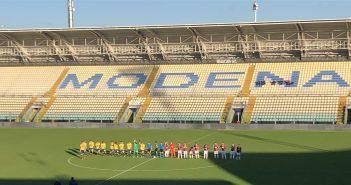 LIVE - Amichevole: Modena-Gozzano 0-0, si conclude a reti inviolate