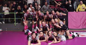 Volley, A2/F: impresa dell'Exacer Montale, Pinerolo si arrende 3-1