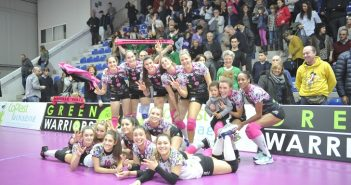 Volley, A2/F: il derby lo vince sempre l'Exacer Montale, Sassuolo battuto 3-0 e prima vittoria in trasferta