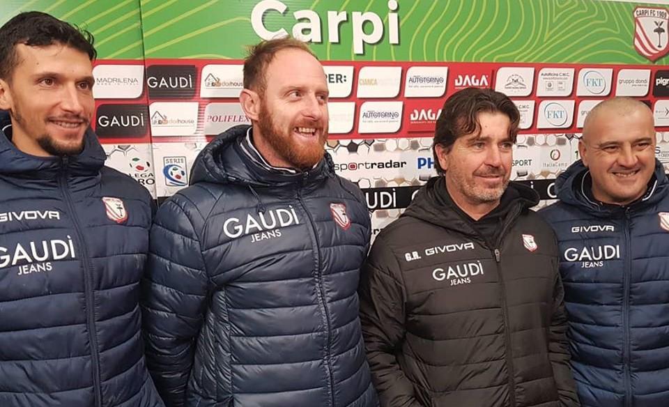 Carpi-Sambenedettese 1-0, le dichiarazioni di mister Riolfo