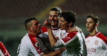 Carpi-Sambenedettese 1-0, settima vittoria consecutiva firmata Maurizi