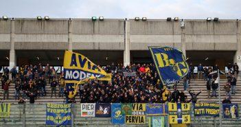 Vicenza-Modena, prevendita settore ospiti