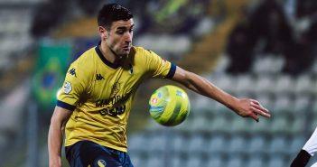 Modena FC - Resto del Carlino - I canarini sulle spalle di Spagnoli: pochi gol, ma sempre preziosi