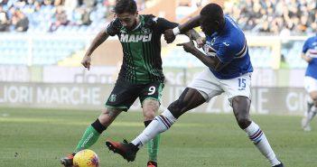 Sampdoria-Sassuolo 0-0, a