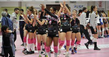 Volley, A2/F: tie-break ancora fatale all'Exacer Montale, il Club Italia vince a Castelnuovo