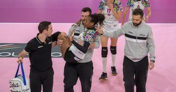Volley, A2/F: Exacer Montale sconfitto a Soverato e grave infortunio per Aguero