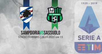 Sampdoria-Sassuolo, le probabili formazioni