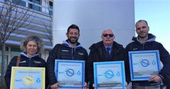 Volley - Certificazioni di qualità per l'attività giovanile: consegnati due marchi oro alla Scuola di Pallavolo Anderlini e un marchio standard alla S. di P. Serramazzoni