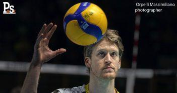 Modena Volley, il saluto della società gialloblù a Maxwell Holt