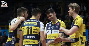 Modena Volley - Resto del Carlino: Leo Shoes, vai a prenderti la Coppa. Perugia è il primo grande ostacolo