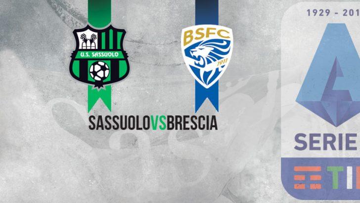 Sassuolo Gazzetta Di Modena Ridisegnato Il Calendario Di Serie A Lunedi C E Il Brescia Parlandodisport It