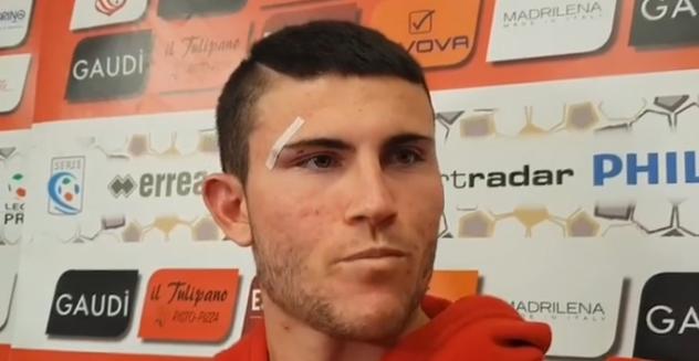 Carpi-Piacenza 3-0, le parole di Fabio Varoli