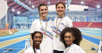 Atletica, Lukudo campionessa italiana Indoor di staffetta e seconda sui 400 metri