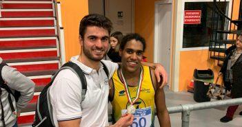 Atletica, Yoro Menghi a tre punti dal titolo italiano Juniores di Prove Multiple