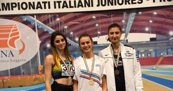 Atletica, due podi e tanti piazzamenti per la Fratellanza agli italiani Indoor per Under 20 e Under 23