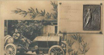 E' il 1909 e un undicenne Enzo Ferrari assiste incantato al record del miglio a Modena...