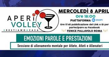 Le ragazze della Scuola di Pallavolo Anderlini invitate all'Aperivolley di Fenice Pallavolo Roma