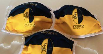 Modena Fc, da martedì in vendita le mascherine ufficiali del club gialloblù
